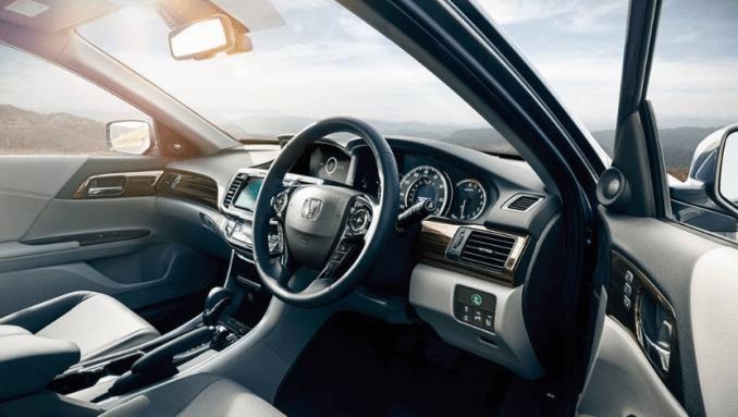 2019 Honda Accord Hybrid Interior Design