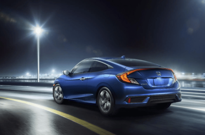 2019 Honda Civic Coupe Exterior