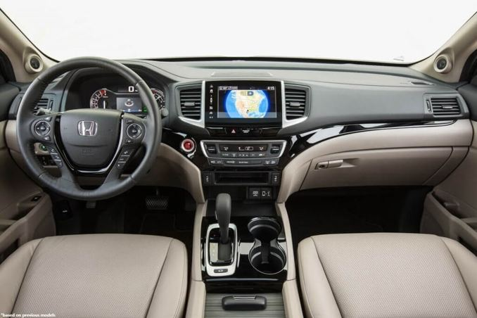 2019 Honda Ridgeline Interior Changes