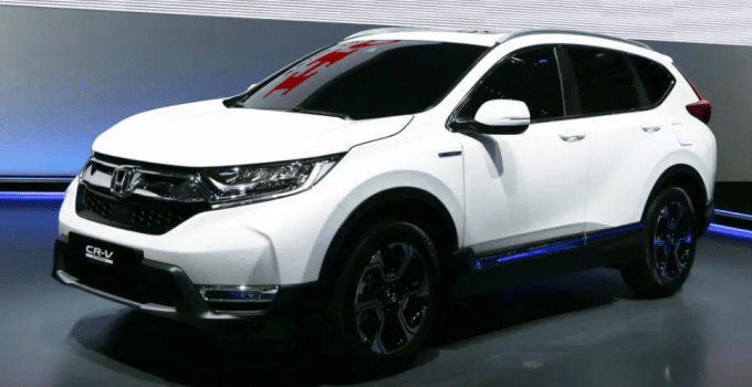 2020 Honda CR-V Diesel Specifications Changes Exterior