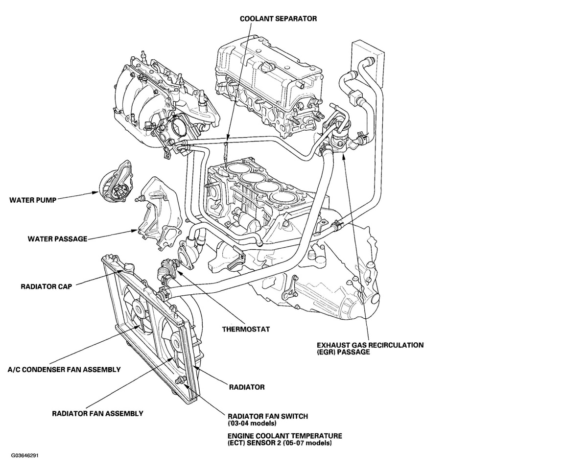 Honda Accord Engine Schematic