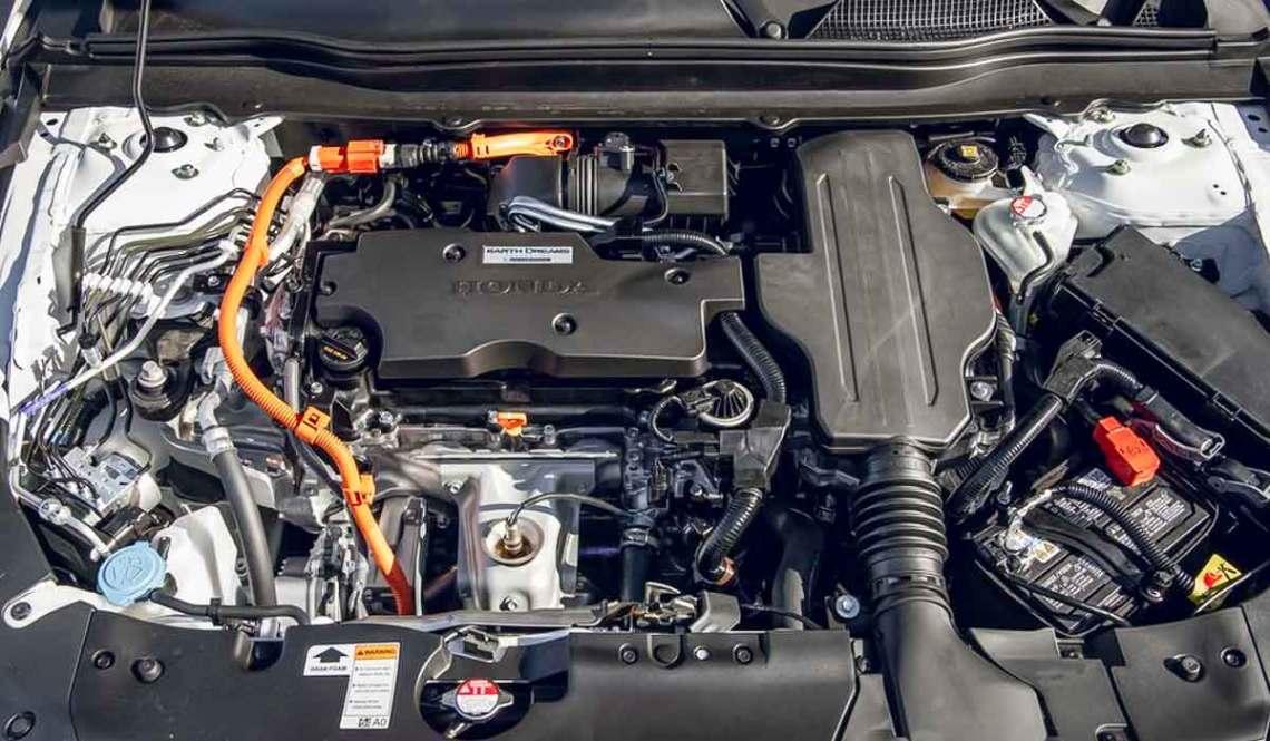 2021 Honda Accord Hybrid headlights. LED headlights