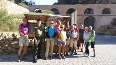 Hondon Walking Group at Castell Vell