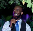 Hondred Percent as MC at a wedding