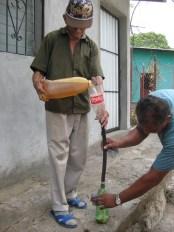 Amapala gas stop