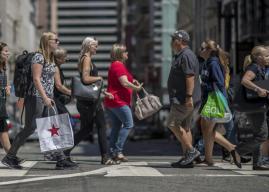 El hundimiento de la clase media americana