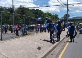 Plataforma protesta este lunes en varias ciudades de Honduras