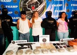 Cae jefa de mara 18 y tres compinches acusados de matar a transportistas