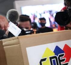 """Observadores internacionales de las parlamentarias de Venezuela destacan la """"absoluta confianza"""" en el proceso de votación"""