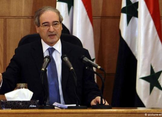 UE impone sanciones al nuevo canciller sirio