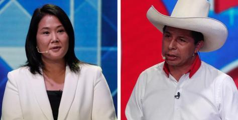 Keiko Fujimori y Pedro Castillo firman compromiso democrático