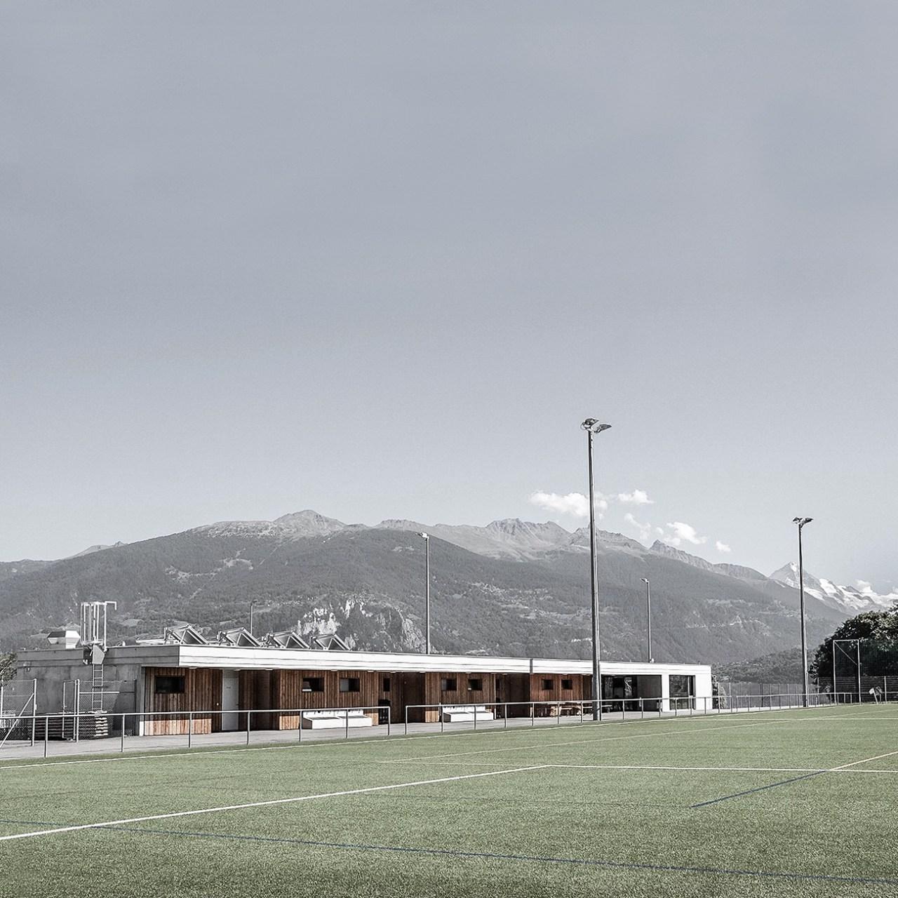 réalisations honei architecture zone sportive savièse architecte UNE MAISON DESIGN