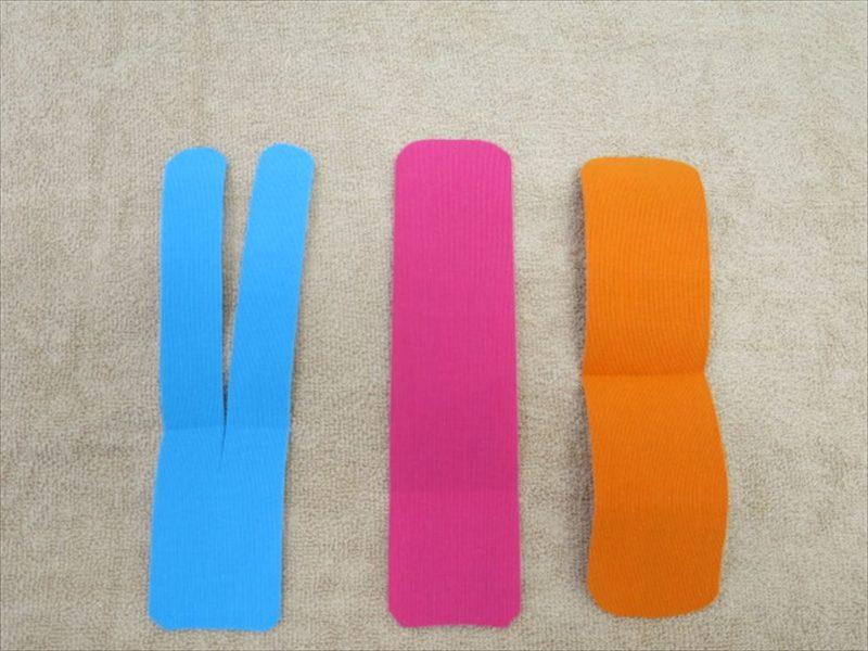 マルチカラーテープ3種