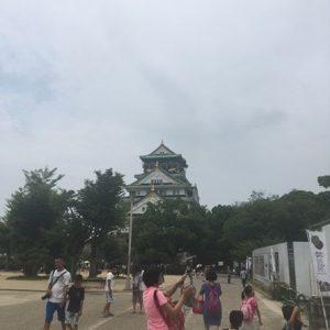 人いっぱい大阪城