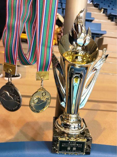 第35回日本パラ水泳選手権大会 ozaさん7