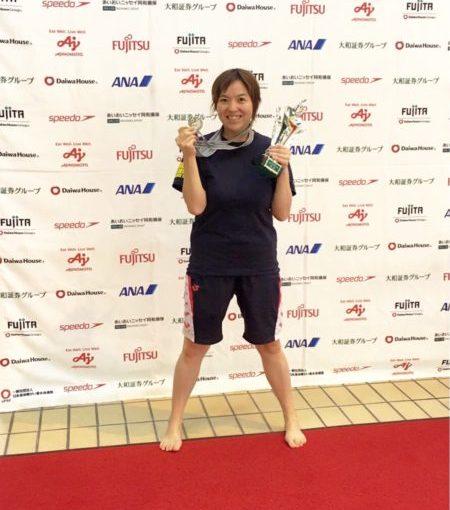 第35回日本パラ水泳選手権大会 ozaさん