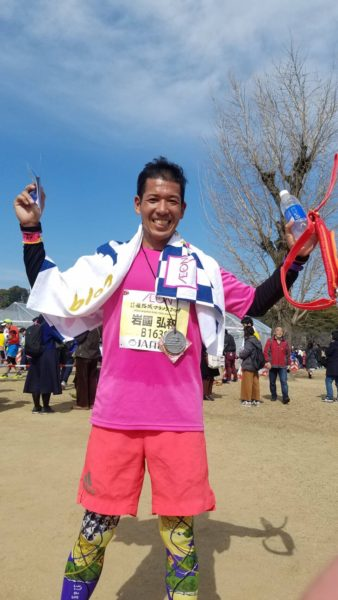 世界遺産姫路城マラソン2019 iwaさん1