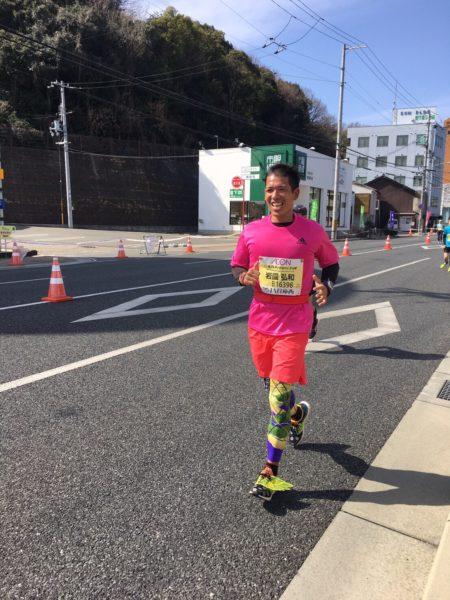 世界遺産姫路城マラソン2019 iwaさん2