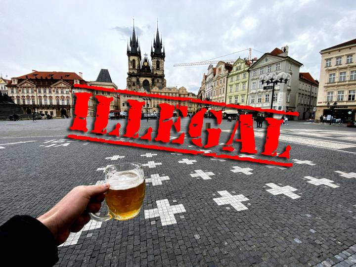 Laws that tourists usually break on their visit to Prague