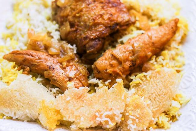 Chicken and Rice (Morgh Polo)-10