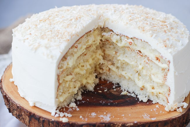 The Perfect Coconut Cake-13