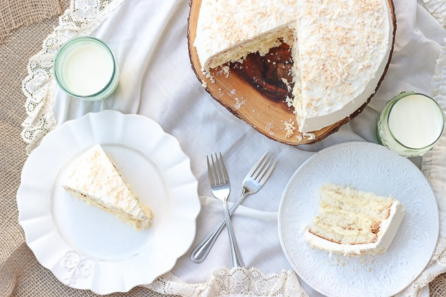 The Perfect Coconut Cake-17