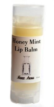 Honey Mint Lip Balm-white