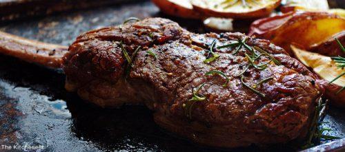 tomahawk honest bison steak rosemary kitcheneer