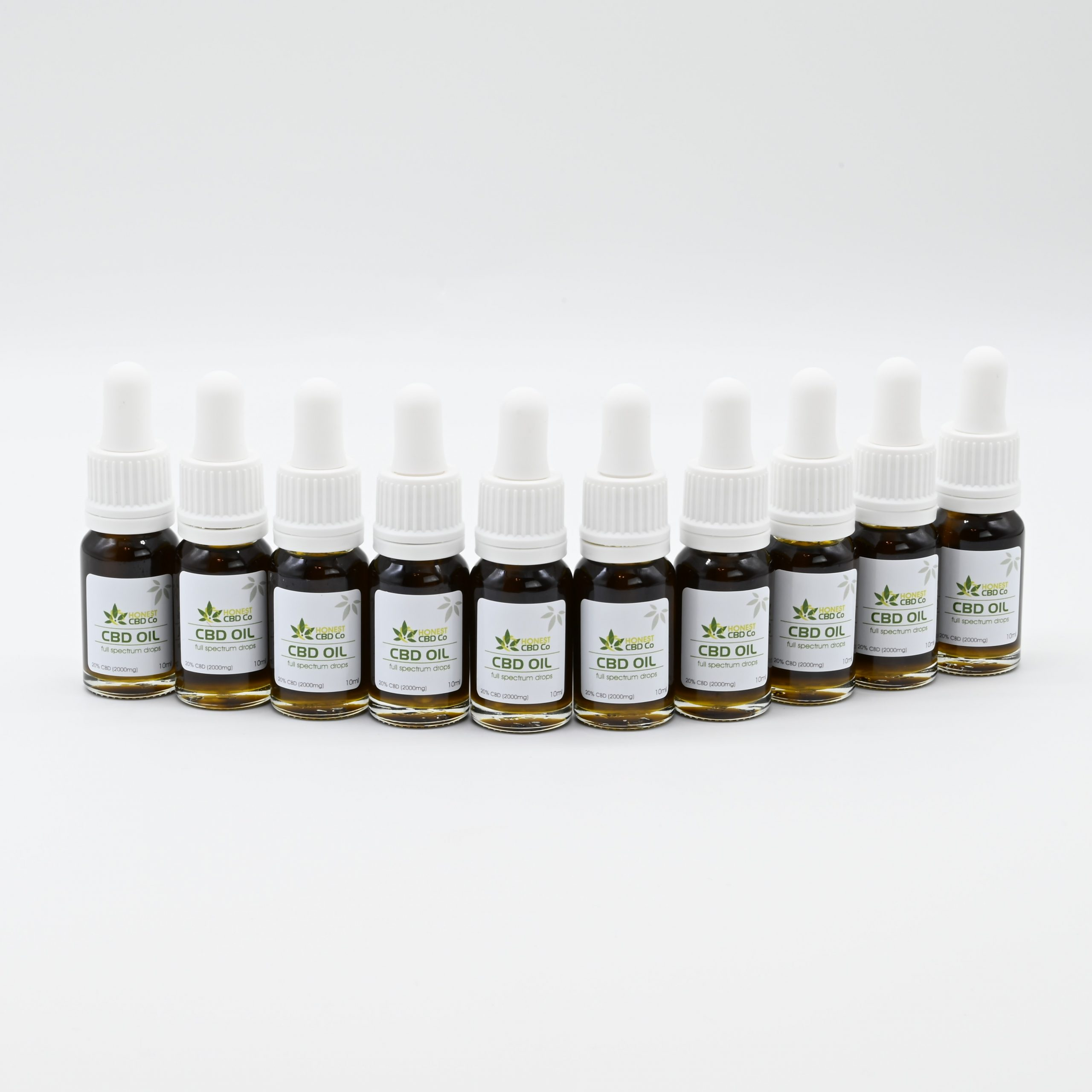 20% Full Spectrum CBD Oil - x10