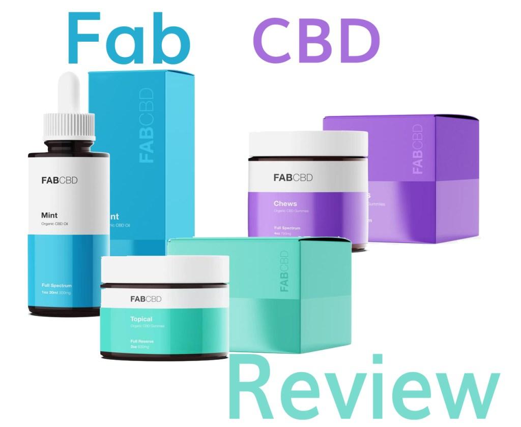 Fab CBD Review [2019] Should You Buy? | Honest CBD Reviews