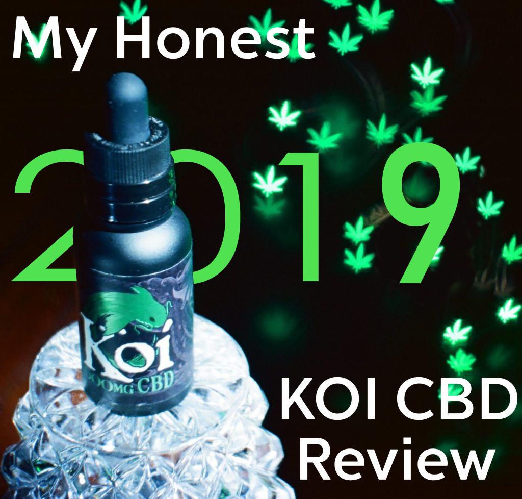 KOI CBD Review [2019 My HONEST Review] TRY KOI | Honest CBD