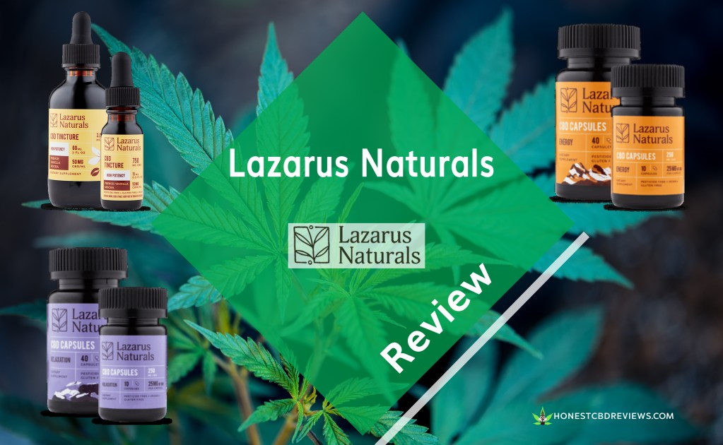 Lazarus Naturals Review |2019| [NEED To Read, Excellent CBD