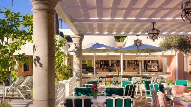 Dining At The Beverly Hills Hotel
