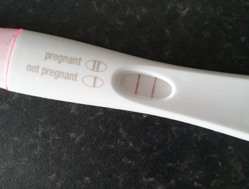 Positive Pregnancy Test Pregnant