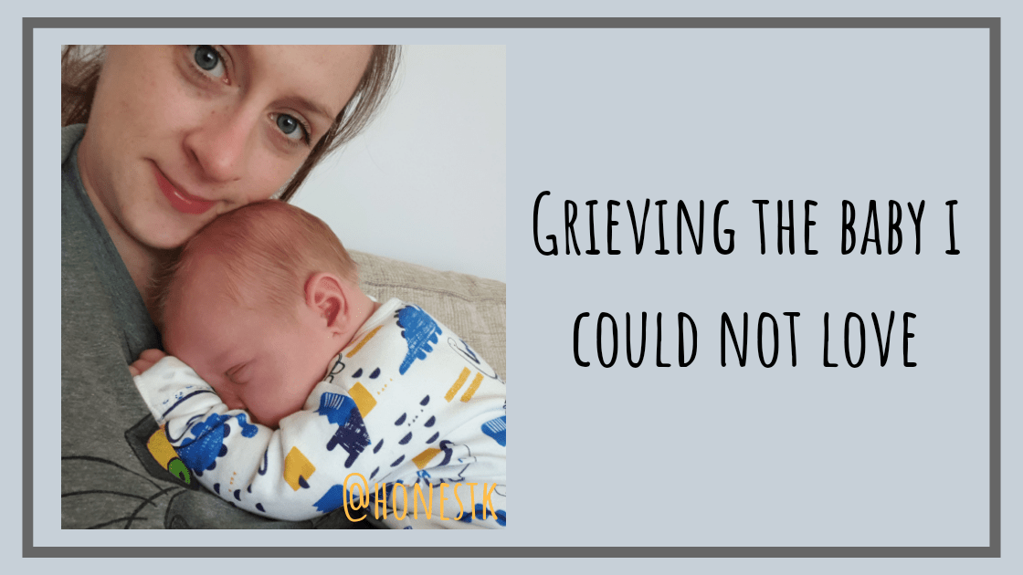 How I grieve for the love I never felt with my first born baby