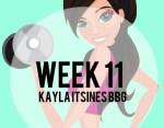 review Kayla Itsines Week 11 BBG