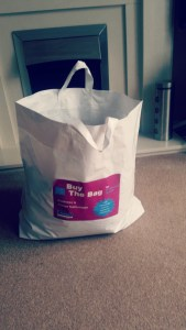 My bag of goodies!