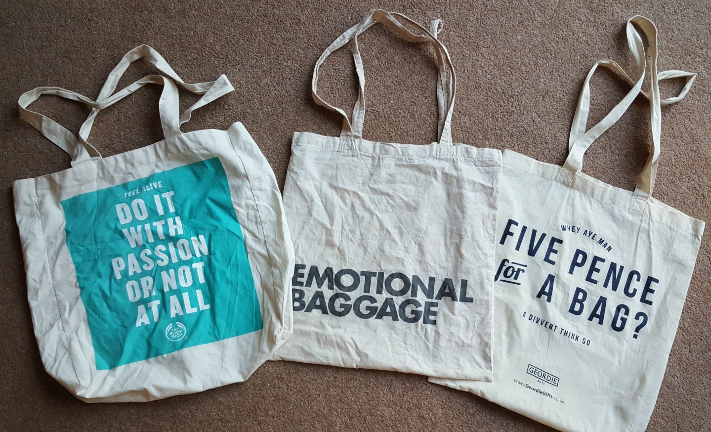 Totally awesome tote bags
