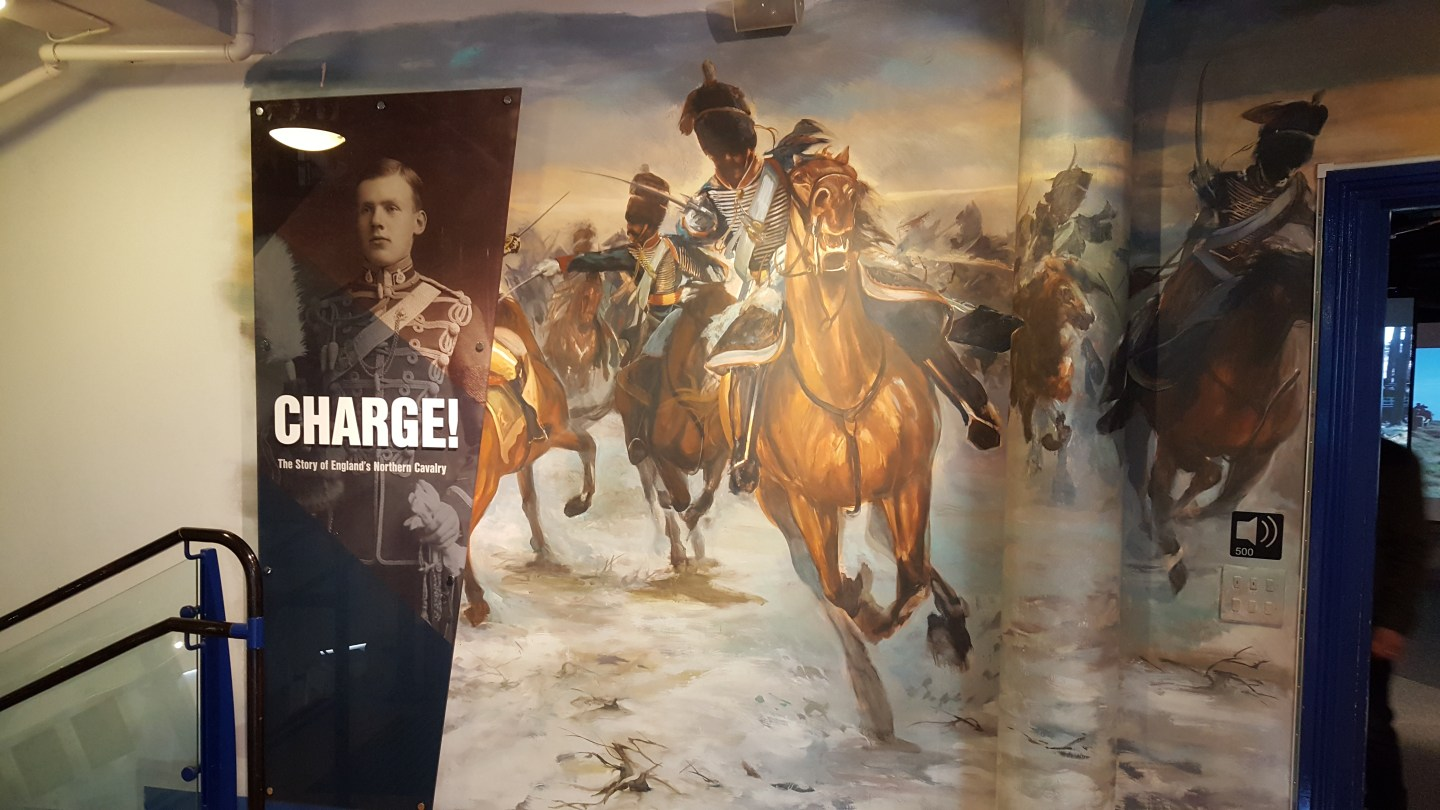 Charge! At the Discovery Museum