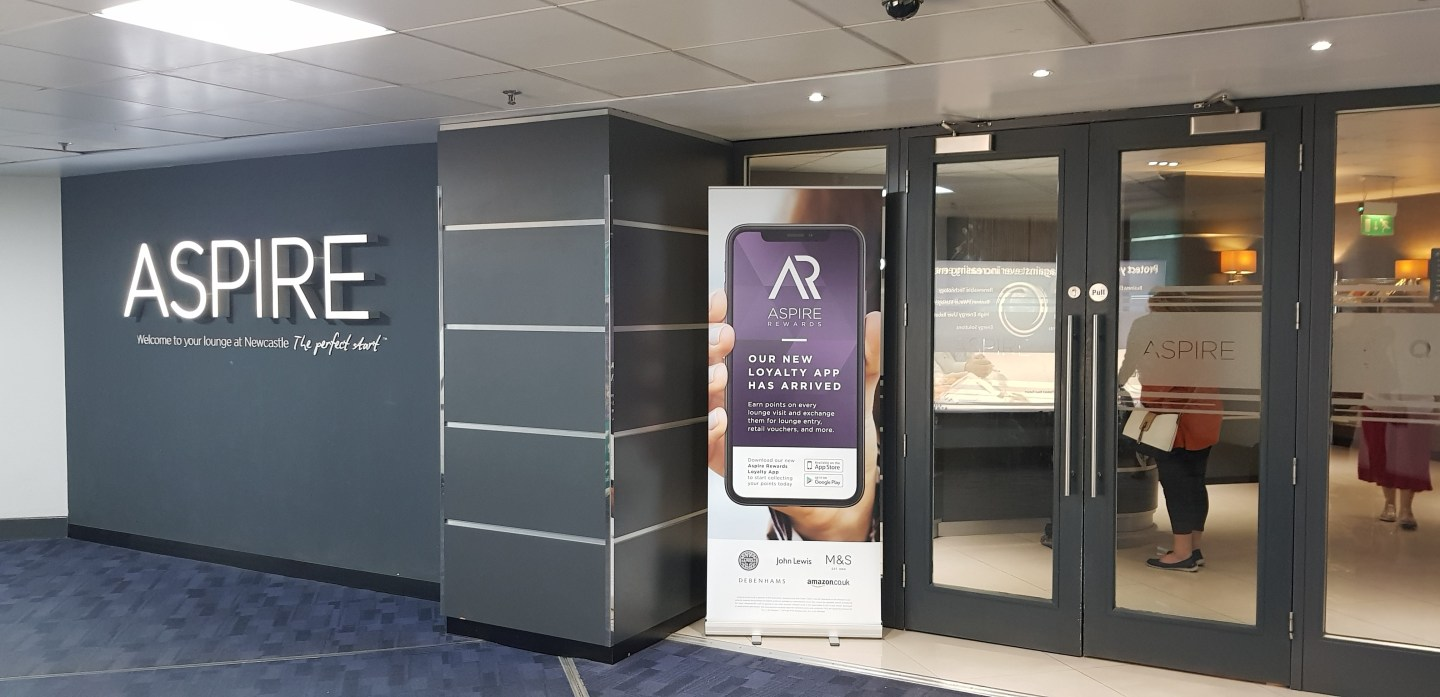Aspire Executive Lounge, Newcastle Airport