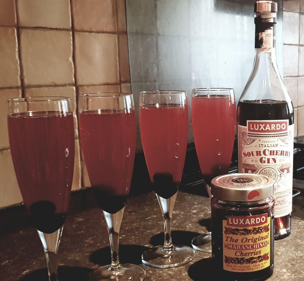 Luxardo sour cherry gin