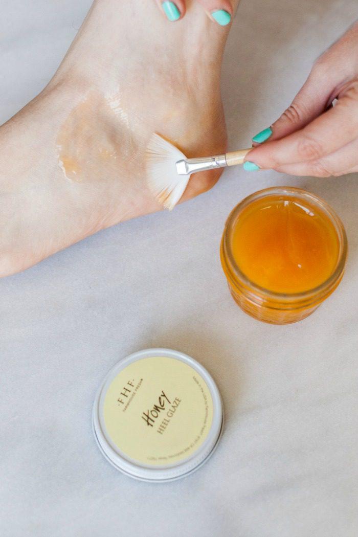 A Honey Heel Glaze To Fix Your Feet For Spring Honestly
