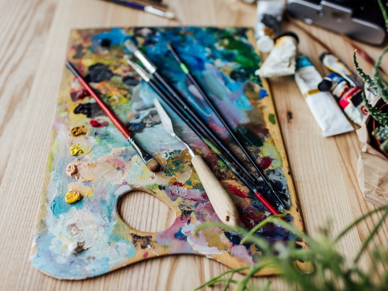 Messy-paint-palette