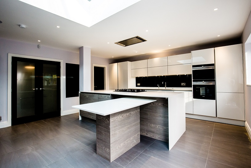 Black Interiors Kitchen