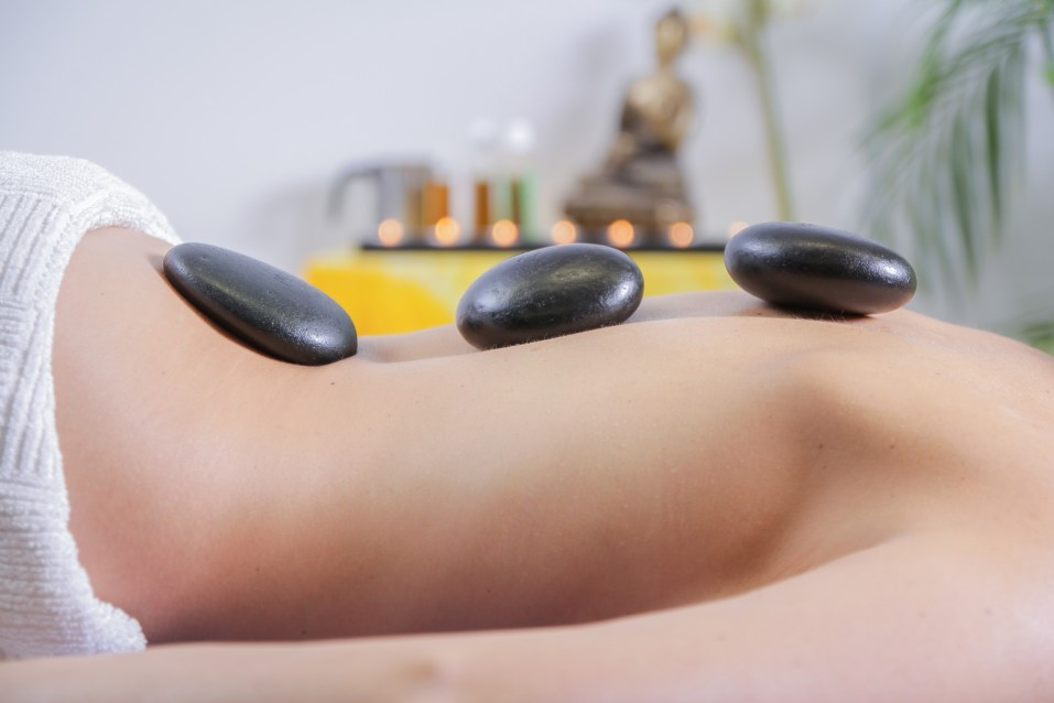 Spa massage stones