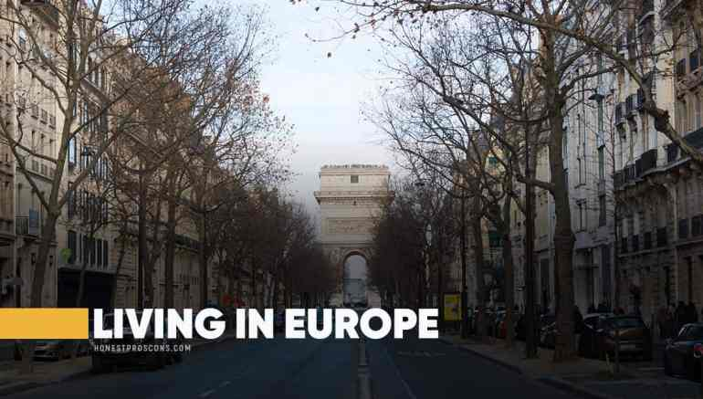 Disadvantages of Living in Europe