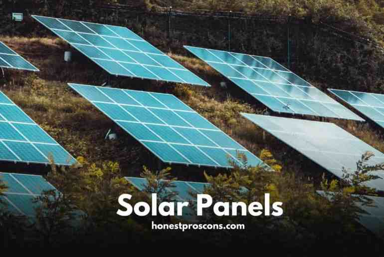 Pros and Cons of Solar Panels