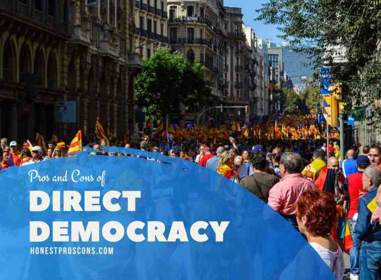 Pros and Cons of Direct Democracy
