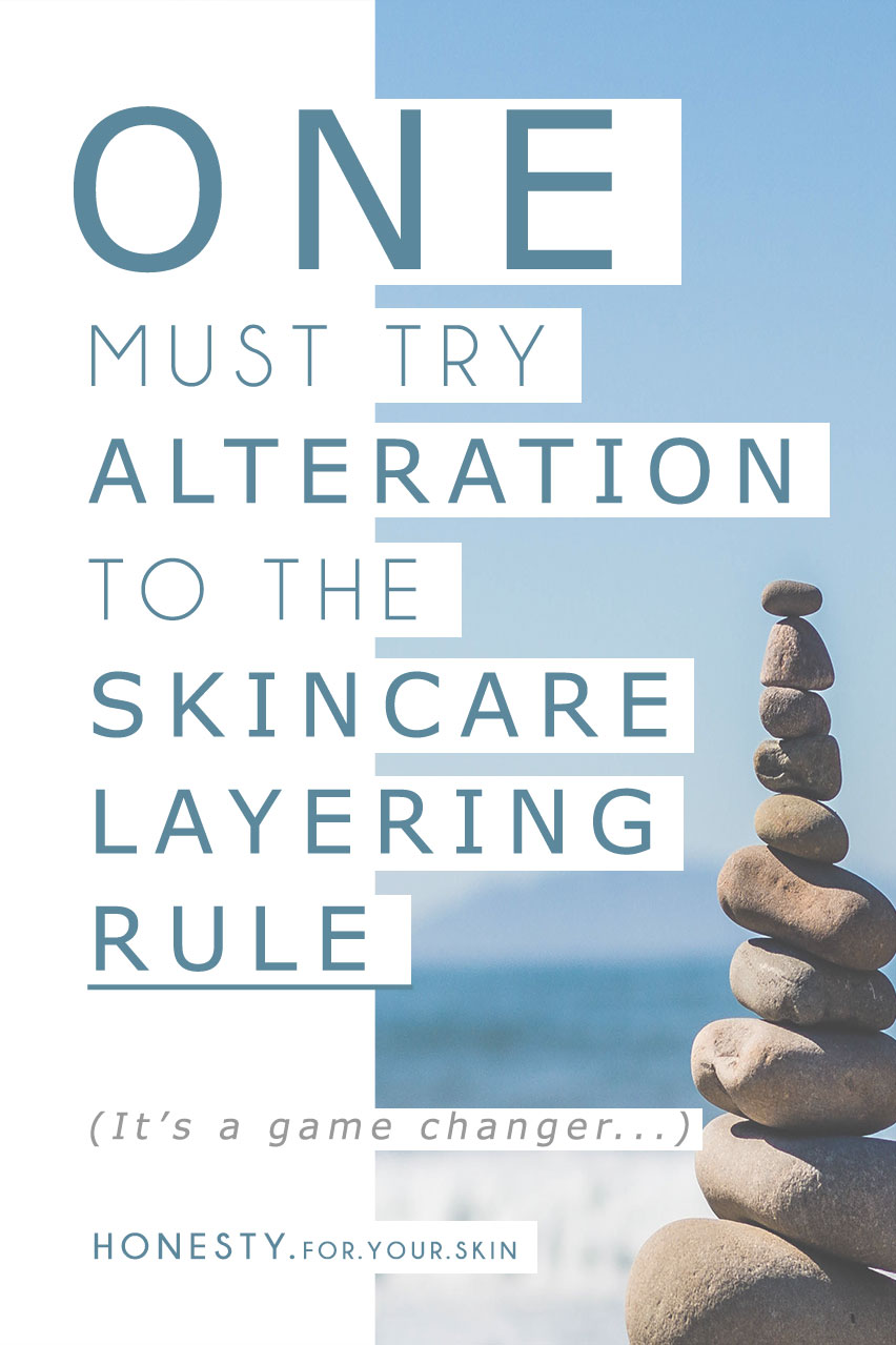 Heard of the skincare layering rules? If you haven't get a read of why they are amazing of your skincare routine 'n if you are practised I have for you ONE skincare layering alteration that will have your skin getting ALL glowy... you know what I mean *winks* http://wp.me/p6LuQS-KA