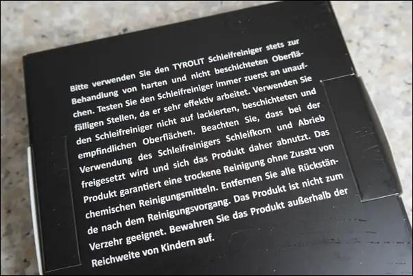 Tyrolit Schleifreiniger